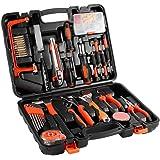 EMEBAY - Home Tool Kits Multi-functional & Universal 100 IN 1 Precision Screwdriver Hammer Set Repair Tool Kit for Household