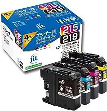 ブラザー LC219/215-4PK 4色セット対応 ジットリサイクルインク JIT-NB2192154P 日本製