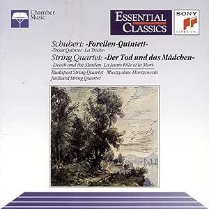 Schubert: Trout Quintet, Death and the Maiden / Budapest Qt et al