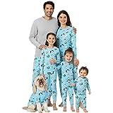 PajamaGram Matching Family Christmas Pajamas - Matching Christmas PJs for Family, Blue