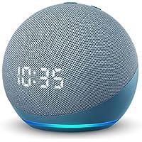 Echo Dot (エコードット) 第4世代 - 時計付きスマートスピーカー with Alexa、トワイライトブルー