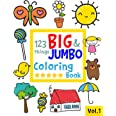 123 things BIG & JUMBO Coloring Book: 123 Coloring Pages!!, Easy, LARGE, GIANT Simple Picture Coloring Books for Toddlers, Ki