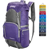 ZOMAKE 40L Lightweight Packable Backpack for Travel - Large Foldable Hiking Daypack Water Resistant …