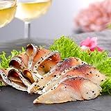 ディメール 鯖のスモーク パストラミ スライス 50g 冷燻製法で余計な熱を加えずしっとり生ハム食感