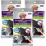 3M ウェットティッシュ お掃除シート 除菌 消臭 アルコール 99.9% 3個 スコッチブライト KCSS-15 3P