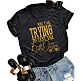 GREFLYING Beth Dutton State of Mind T Shirt Women Funny Letter Print Short-Sleeve Vintage TV Show Graphic Tees Tops