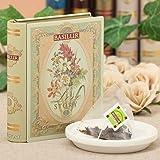 【敬老の日ギフト】紅茶 バシラーティー ミニチュアラブストーリーVol1 ベルガモットフレーバー 5袋入り アールグレイ 1 個