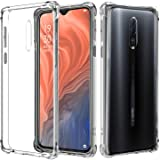 Junhou for for Oppo Reno Z Soft Gel Clear Transparent Shockproof TPU Thin Slim Case Cover