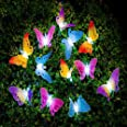 LEDMOMO Led Solar String Light Multi Color Butterfly Fairy Lights Waterproof Outdoor Light Home Garden Patio Lawn Party Decor