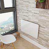 WSSF- 壁掛け折りたたみテーブル木製キッチン&ダイニングテーブル壁テーブルコンピュータデスクラーニングブックテーブル壁用テーブルラップトップテーブル折りたたみ式子供用スタンドデスクオプションホワイトペイント (サイズ さいず : 80*40cm)