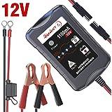 『バージョンアップ』LST 12Vバッテリー充電器 バッテリーチャージャー メンテナンス充電器 トリクルチャージ 3-3…