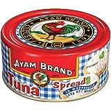 Ayam Brand Tuna Spread in Mayonnaise | Wild Caught Premium Tuna | With Picked Vegetable | Omega 3, Vitamin E, B6 & B12 | Hala