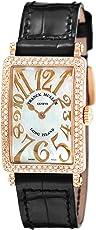 [フランク ミュラー]FRANCK MULLER 腕時計 ロングアイランド ホワイトパール文字盤 902QZRELDMOPBLK5NEN レディース 【並行輸入品】