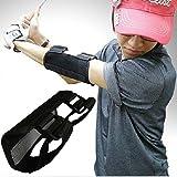 ゴルフ 肘ブレース スイング 練習 器具 アームチェッカー トレーニング 矯正 ストレート ゴルフ肘 ブレース 矯正サポート 初心者 ナイロン製