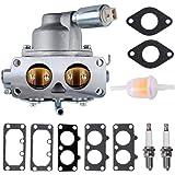 Gekufa 796227 Carburetor Carb with Gasket Kit Fit for Briggs & Stratton 407777 406777 40R877 445677 445877 44L777 44M777 44R6