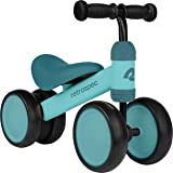 Retrospec Cricket Baby Walker Balance Bike with 4 Wheels for Ages 12-24 Months - Toddler Bicycle Toy for 1 Year Old's - Ride