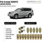 White LED Light 17-pc Kit for Lexus GX470 (2003-2009)