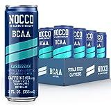 NOCCO - BCAA Sugar Free Energy Drink - 12 Low Calorie, Healthy Beverages - Freshly Carbonated, Great Tasting Energy Drinks wi