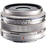 OLYMPUS 単焦点レンズ M.ZUIKO DIGITAL 17mm F1.8 シルバー