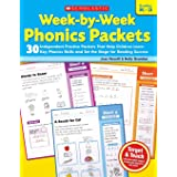 Week-By-Week Phonics Packets: Grades K-3