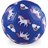 Crocodile Creek - Unicorn Size 3 Soccer Ball - Ships Inflated, Durable Outdoor Toy for Active Play and Beginner Sports, Desig