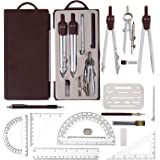 Compass for Geometry Drawing Tools & Drafting Kits for Engineer Geometry Set Metal for Architecture Geometry Set for School w