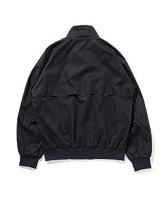 Perma-Prest Cotton Twill Blouson: Black