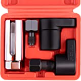 O2センサーソケット5点セット 取り外し工具 自動車整備工具 補助ツール ソケットレンチ 22mm スリット