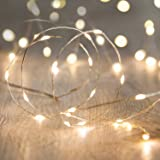 Fairy String Lights Battery Operated 9.8Ft 3M 30 Leds Firefly Micro String Lights Copper Wire for Wedding Centerpiece Thanksg
