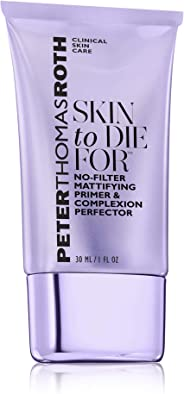 Peter Thomas Roth Skin To Die For No-Filter Mattifying Primer and Complexion Perfector for Women, 30ml