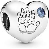 Pandora Women's 925 Sterling Silver Baby Boy Charm Bead