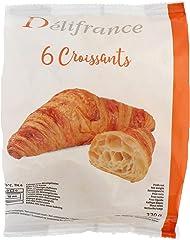 Delifrance Butter Croissant Frozen, 55g (Pack of 6) - Frozen