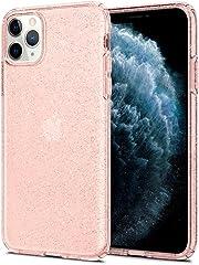Spigen Liquid Crystal Glitter Designed for Apple iPhone 11 Pro Max Case (2019) - Rose Quartz
