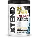 Xtend Keto Energy | The Perfect Keto & BCAA Powder Ultra Frost | 125mg Caffeine + Sugar Free Bhb Exogenous Ketones Supplement