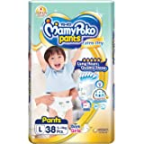 MamyPoko Extra Dry Pants L38, 38 count