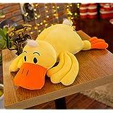 "Smilesky Plush Hugging Animal Pillows Stuffed Animal Toys Gifts for Kids 14"" Yellow"