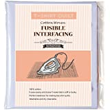"""T-Shirt Quit Project Fusible Interfacing, White, 44"""" x 79"""""""
