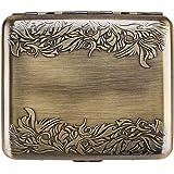 RFID Blocking Credit Card Holder Protector - Best Metal Stainless Steel Travel Wallet Case for Men & Women