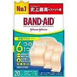 BAND-AID(バンドエイド) 救急絆創膏 快適プラス アソート 20枚