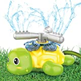 Sprinkler for Kids and Toddler, Turtle Sprinklers for Yard Kid Outdoor Water Toys Gifts for 3,4,5,6,7,8 Year Old Boy Girl, Ba
