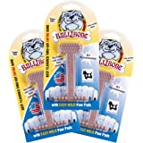 Bullbone Dog Chews: Durable Dog Toys for Small Dogs and Aggressive Chewers. Long Lasting Beef Flavored Dog Chews. Great for P