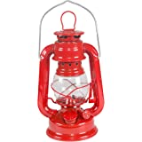 Stansport Small Hurricane Lantern (Red, 8-Inch)
