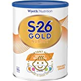 Wyeth Nutrition S-26 GOLD Nursoy Infant Milk Formula, Suitable from birth,900g