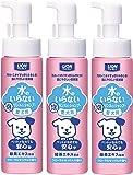 ペットキレイ 水のいらない リンスインシャンプー 泡 フローラルせっけんの香り 愛犬用 200ml×3本 (まとめ買い)
