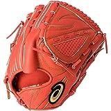 アシックス(asics) 軟式 野球 グローブ 投手用(ヨコ) 高校野球対応 GOLD STAGE SPEED AXEL ゴールドステージ スピードアクセル サイズ9 3121A326