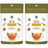 漢茶 気 POWER 2袋セット (各2g×6包入り) ティーバッグ プーアル茶ベース ノンカフェイン 健康茶 薬日本堂