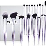 [Amazonブランド]Eono(イオーノ)メイクブラシ17本セット化粧筆 メイクブラシセット化粧ブラシ2色漸進 柔らかい敏感肌適用 毛量の多い たっぷりと粉を含み 高級繊維毛携帯便利