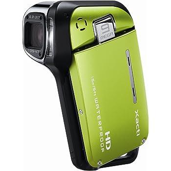 SANYO ハイビジョン 防水デジタルムービーカメラ Xacti (ザクティ) DMX-CA9 グリーン DMX-CA9(G)
