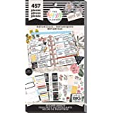 me & my BIG ideas Sticker Value Pack - The Happy Planner Scrapbooking Supplies - Vintage Botanicals Theme - Multi-Color - Gre