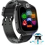 Karaforna Kids Game Smart Watch Phone - Boys Girls Smartwatch Phone with 7 Games Camera Alarm Clock Touch Screen SOS Call for